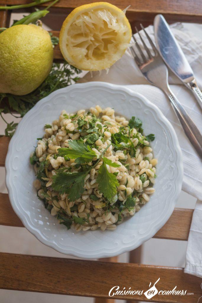 salade-ble-dur-citron-10-683x1024 - Salade de blé dur au citron et aux herbes