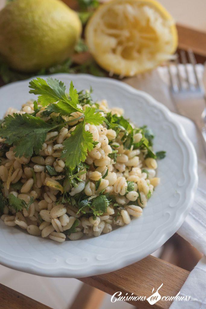 salade-ble-dur-citron-11-683x1024 - Salade de blé dur au citron et aux herbes