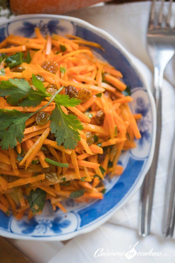 salade-carottes-raisins-secs-5-683x1024 - Salade de carottes aux raisins secs