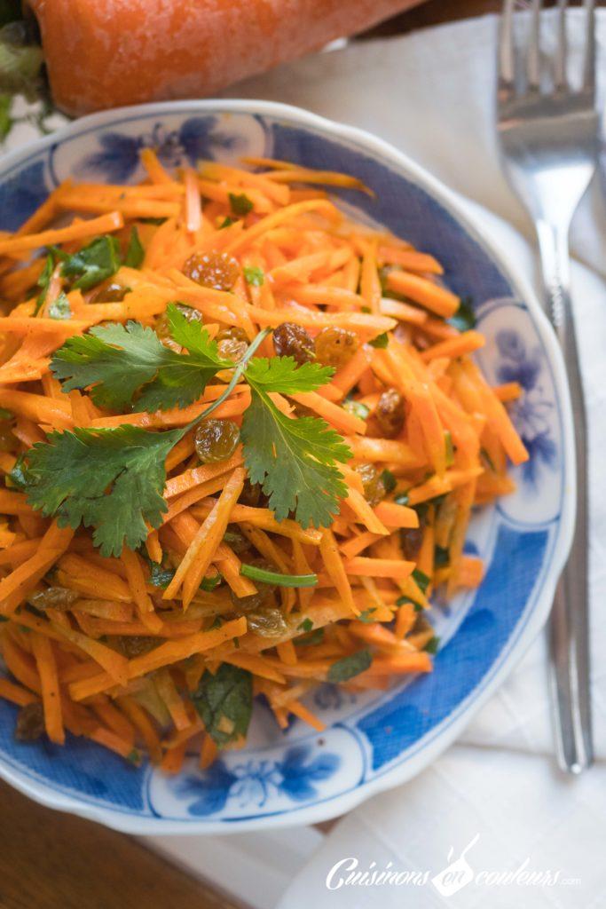 salade-carottes-raisins-secs-6-683x1024 - Salade de carottes aux raisins secs