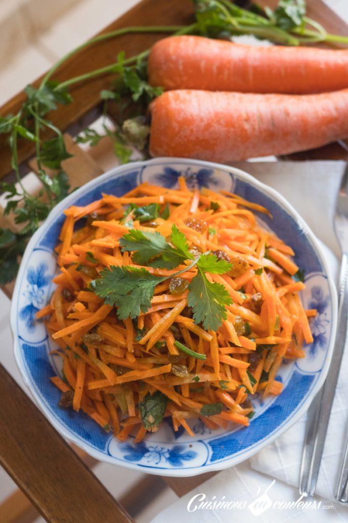 salade-carottes-raisins-secs-7-683x1024 - Salade de carottes aux raisins secs