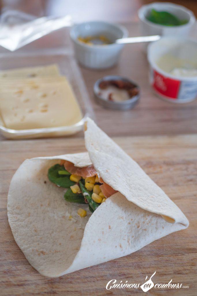 wrap-saumon-4-683x1024 - Wrap au saumon et aux épinards