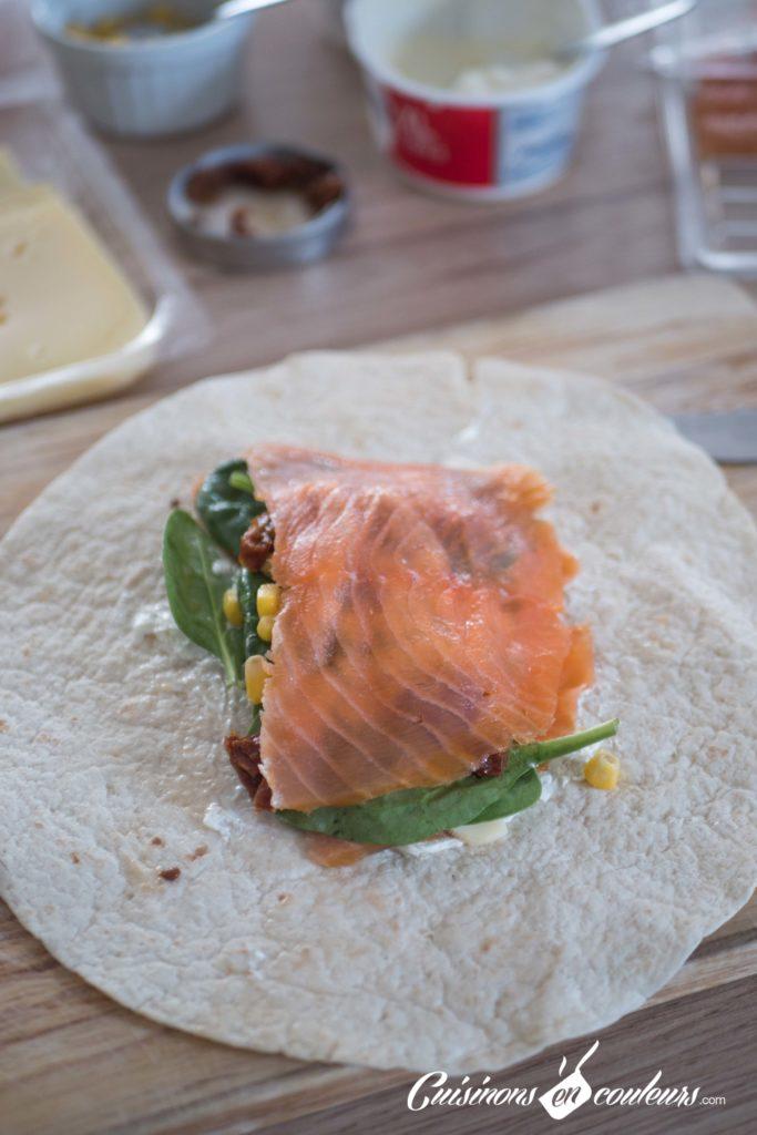 wrap-saumon-5-683x1024 - Wrap au saumon et aux épinards