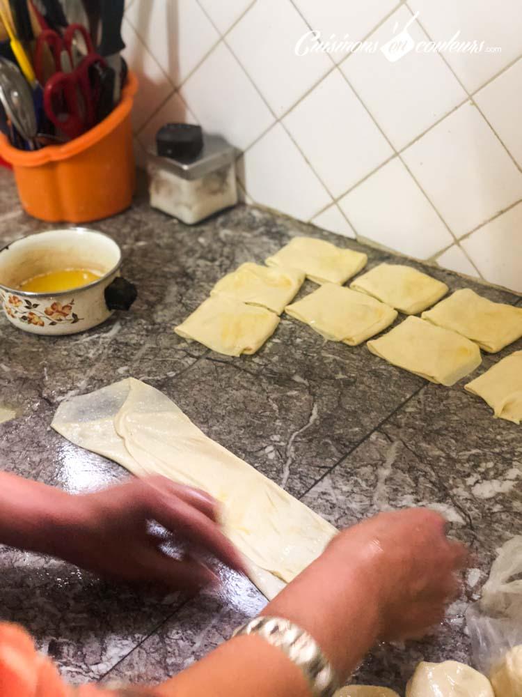 Msemen-mlaoui-4 - Msemen, Mlaoui et Rziza, la recette FACILE et INRATABLE avec UNE SEULE PÂTE et les 3 techniques de pliage