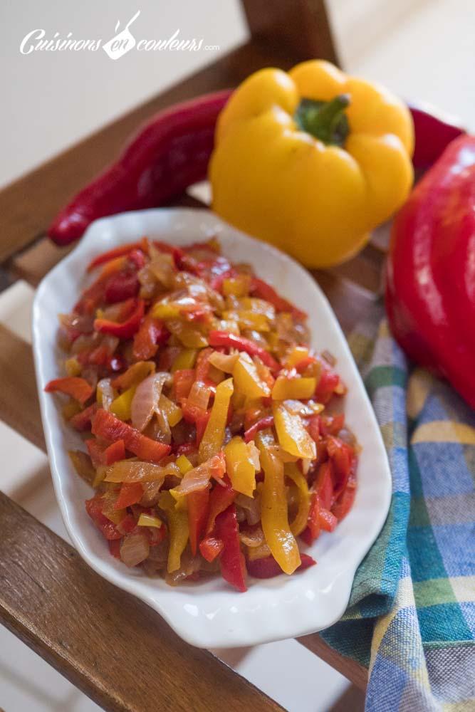 Poelee-de-poivrons-5 - Poêlée de poivrons à la sauce soja