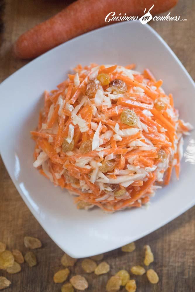 coleslaw-vanille-3 - Coleslaw à la vanille (salade de carottes et chou blanc)