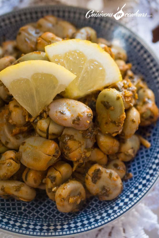 foul-mchermel-2 - Foul mchermel, les fèves à la chermoula
