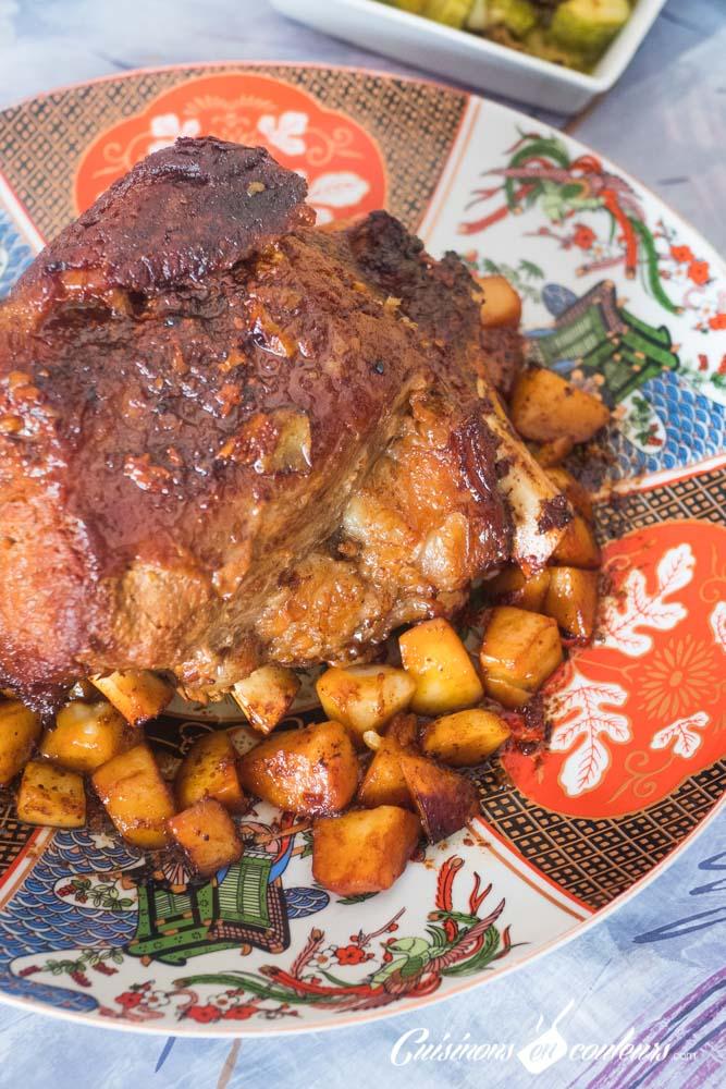 Cotes-de-veau-roties-7 - Côtes de veau rôties au four