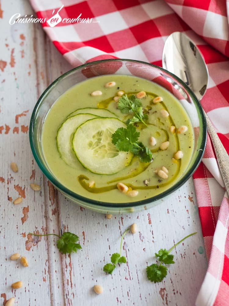Soupe-froide-concombre-et-avocat-5 - Soupe froide d'avocat et concombre