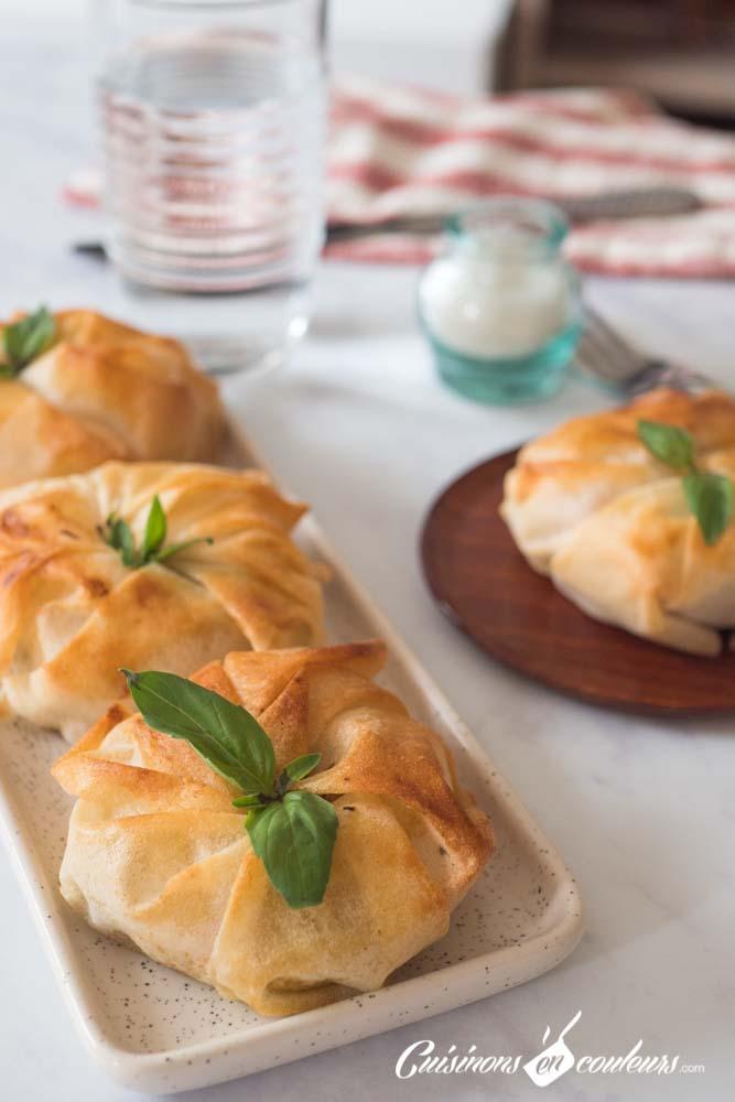 pastilla-a-la-truite-12 - Pastilla à la truite fumée, poireaux et tomates séchées