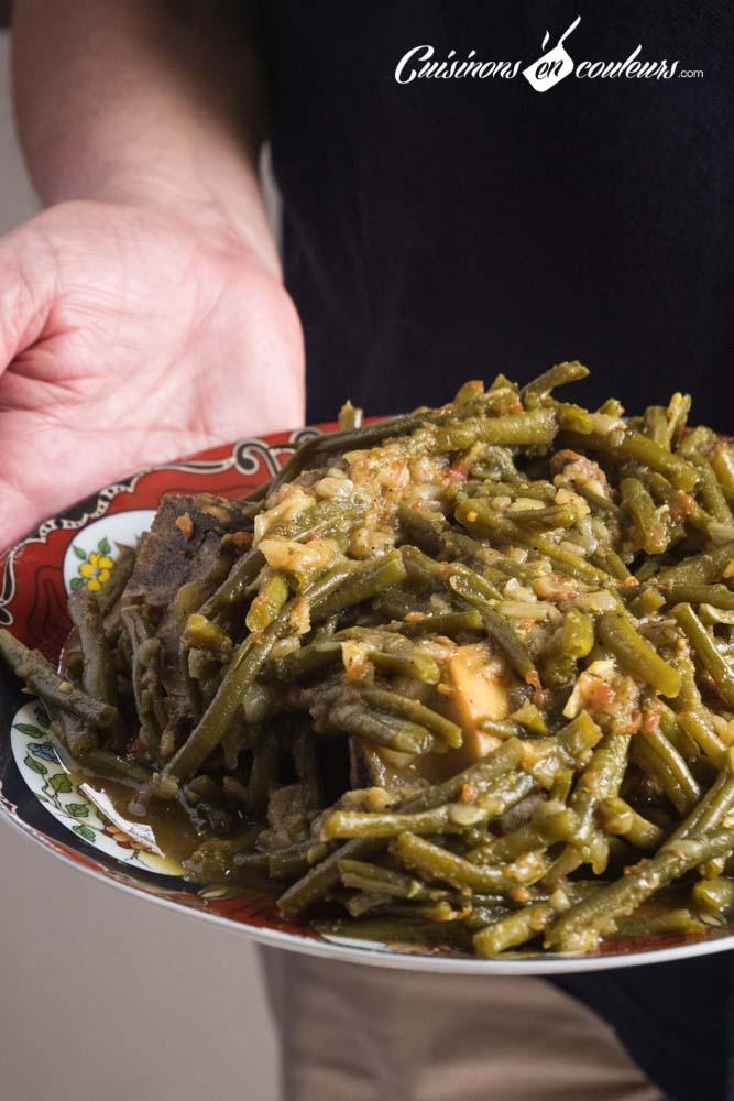 tajine-haricots-verts-6 - Tajine de boeuf aux haricots verts