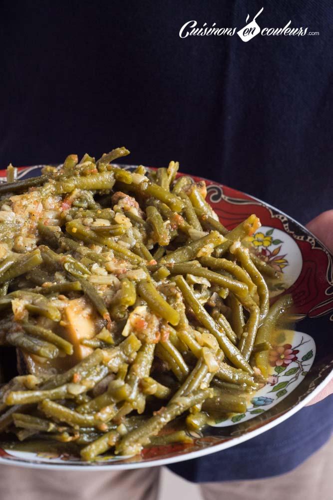 tajine-haricots-verts-7 - Tajine de boeuf aux haricots verts
