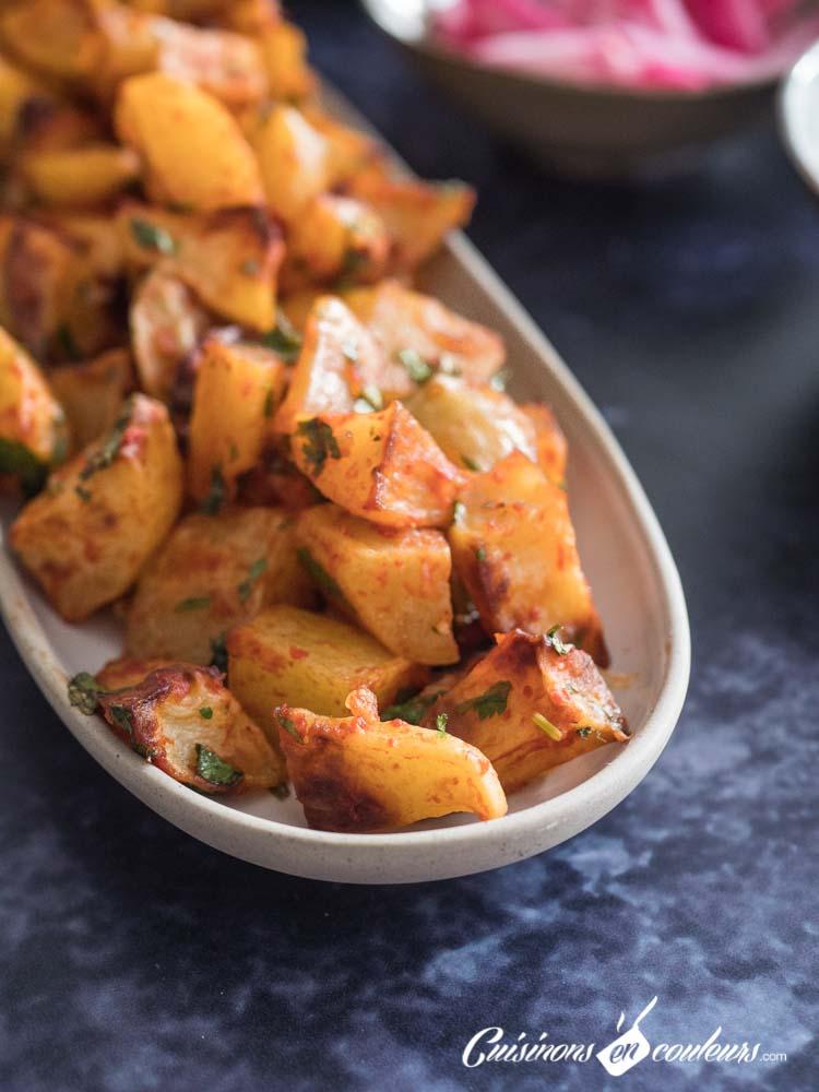 Batata-Harra-pommes-de-terre-a-la-libanaise-4 - Batata Harra, pommes de terre à la libanaise