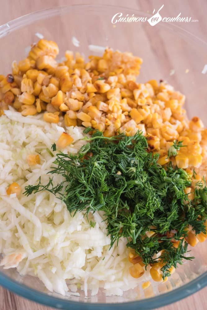 Salade-fenouil-maïs-grillé-3 - Salade de fenouil au maïs grillé