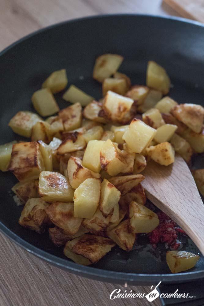 batata-harra-7 - Batata Harra, pommes de terre à la libanaise