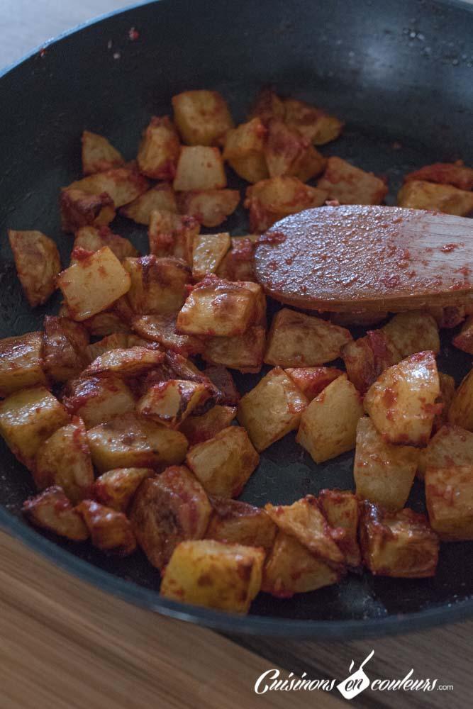 batata-harra-8 - Batata Harra, pommes de terre à la libanaise