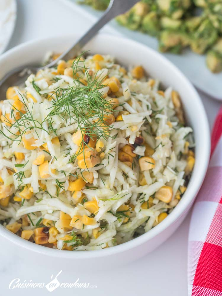 salade-de-fenouil-maïs-aneth-11 - Salade de fenouil au maïs grillé