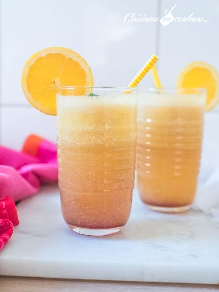 Cocktail-Sunrise-2 - Sushine, cocktail aux oranges et à l'ananas