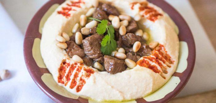 Houmous Lahmé, comme au Liban !