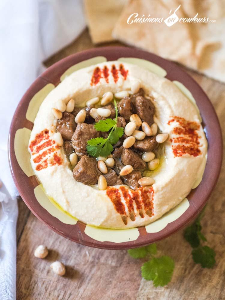 Houmous-Lahme-2 - Houmous Lahmé, comme au Liban !