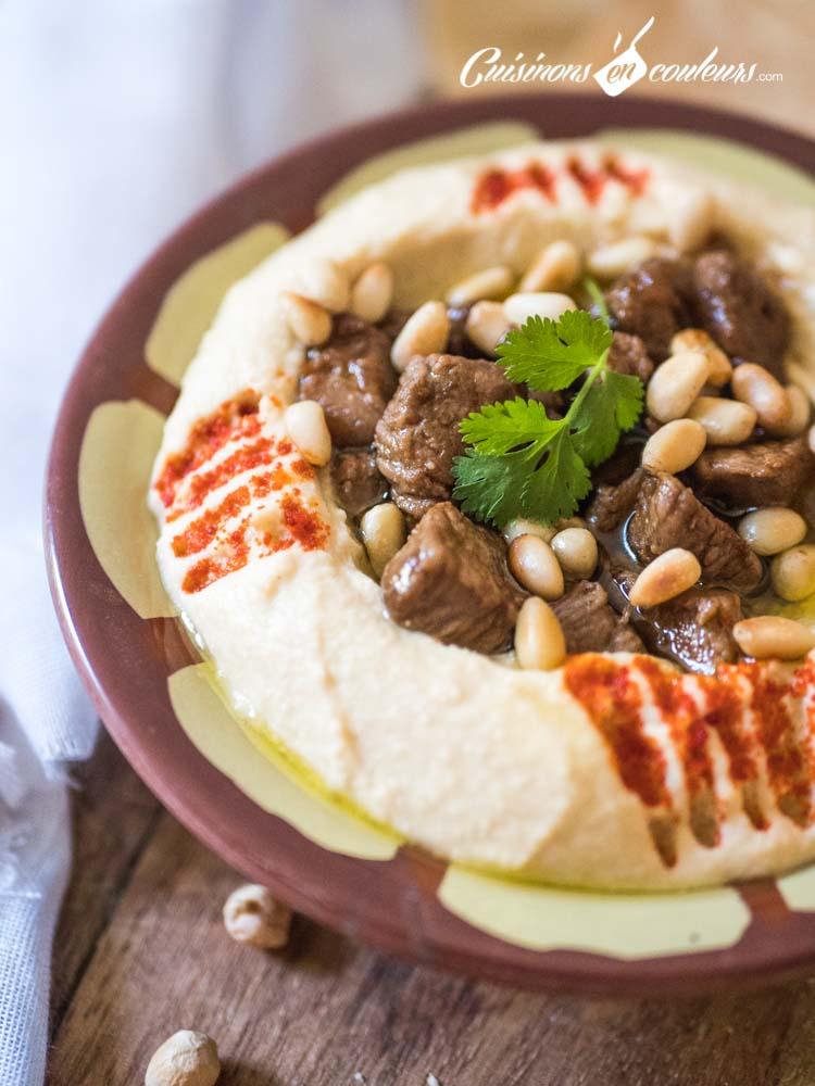 Houmous-Lahme-9 - Houmous Lahmé, comme au Liban !