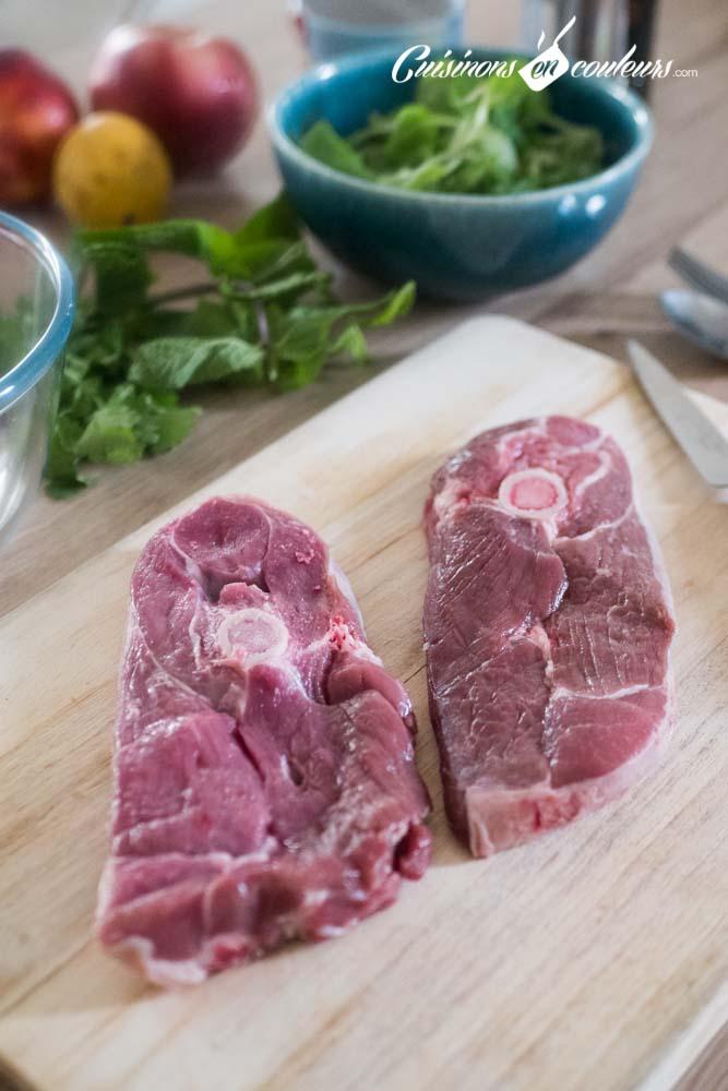 Salade-agneau-et-nectarines-11 - Salade d'agneau aux nectarines