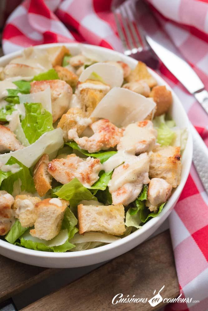 Salade-cesar-16 - Salade César maison, très facile