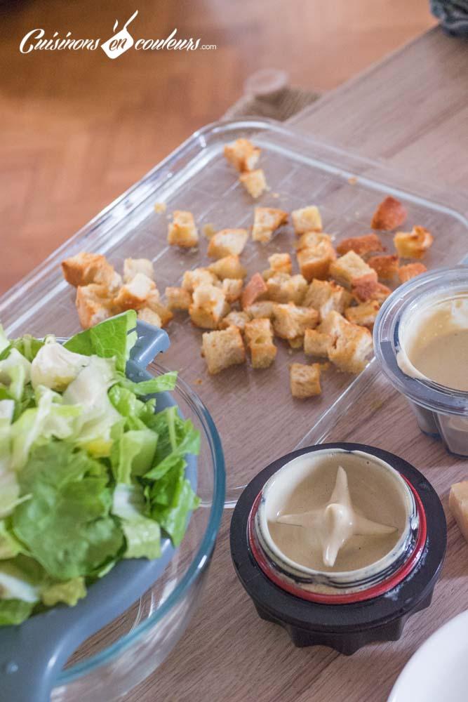 Salade-cesar-9 - Salade César maison, très facile