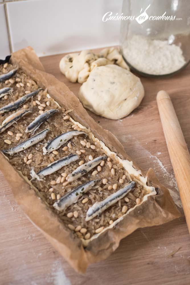 tarte-oignons-pissaladiere-4 - Tarte aux oignons façon pissaladière