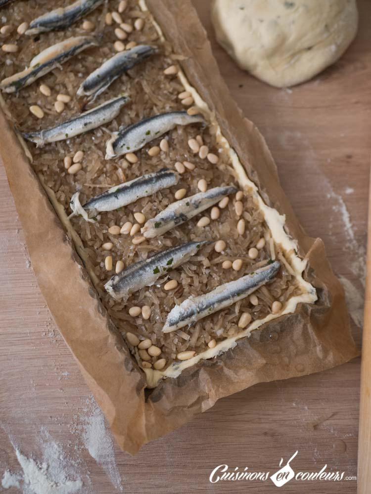 tarte-oignons-pissaladiere-5 - Tarte aux oignons façon pissaladière