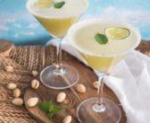 Thé glacé au citron vert, gingembre et basilic