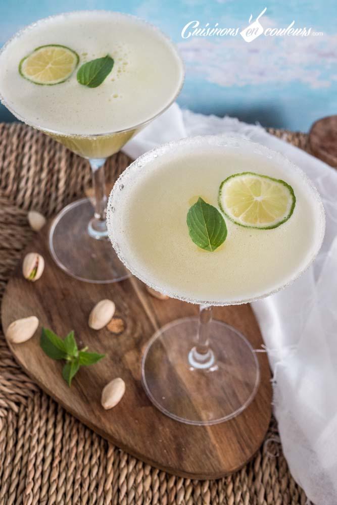 the-glace-citron-vert-basilic-gingembre-5 - Thé glacé au citron vert, gingembre et basilic