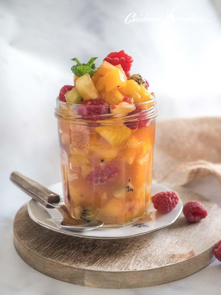 Salade-de-fruits-dingue - Incroyable salade de fruits à la cardamome et à la cannelle