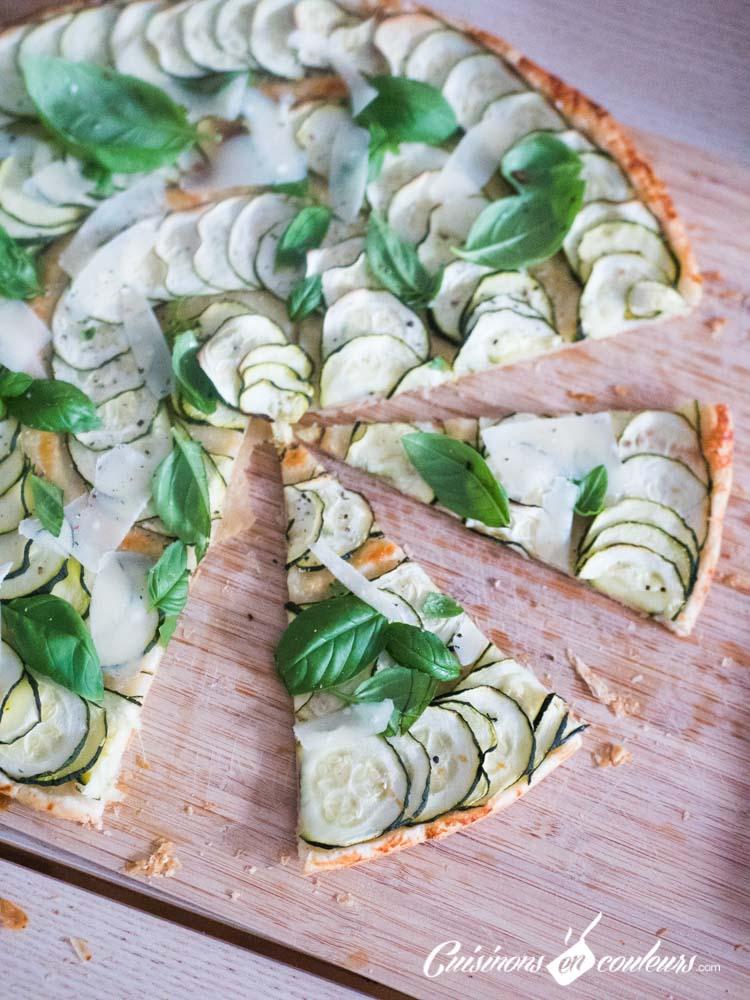 Tarte-fine-de-courgette-au-basilic-2 - Tarte fine de courgettes au parmesan