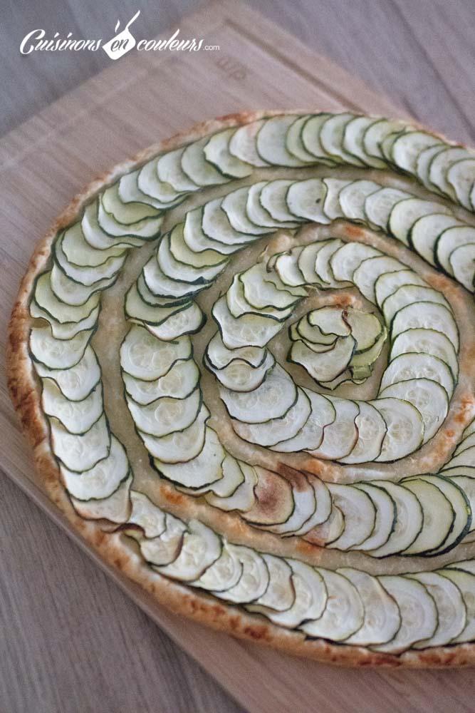 Tarte-fine-de-courgette-au-basilic-4 - Tarte fine de courgettes au parmesan