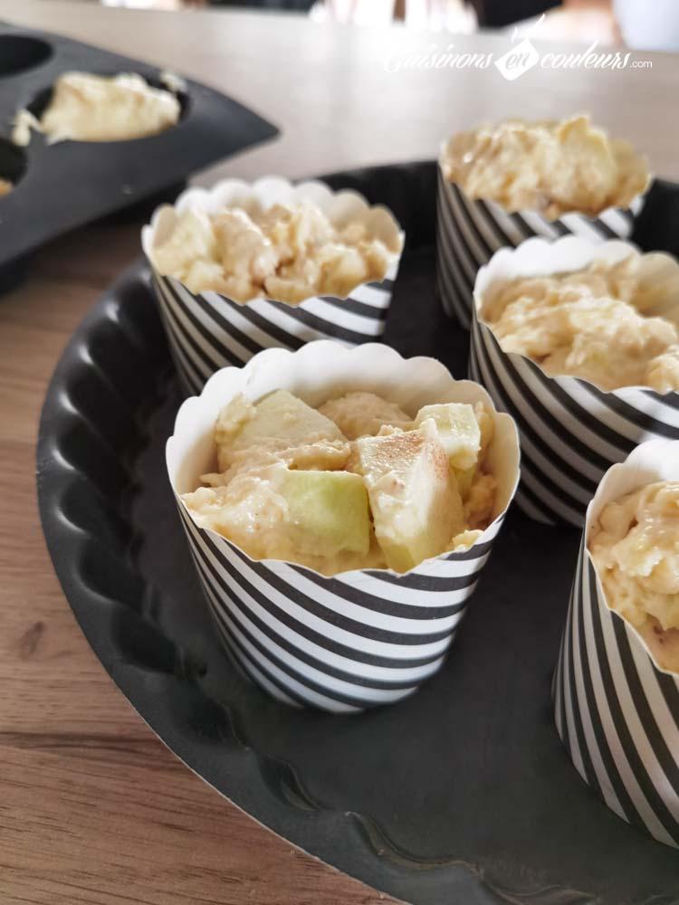 Muffins-aux-pommes-et-cannelle-6 - Muffins aux pommes et à la cannelle