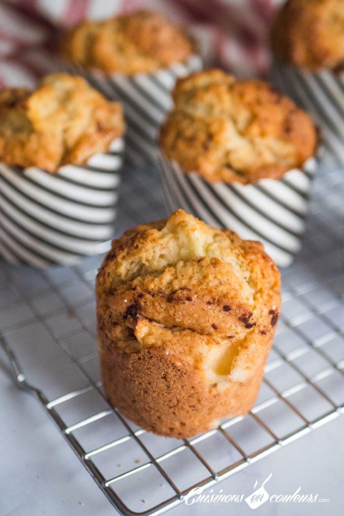 Muffins-aux-pommes-2-683x1024 - Muffins aux pommes et à la cannelle