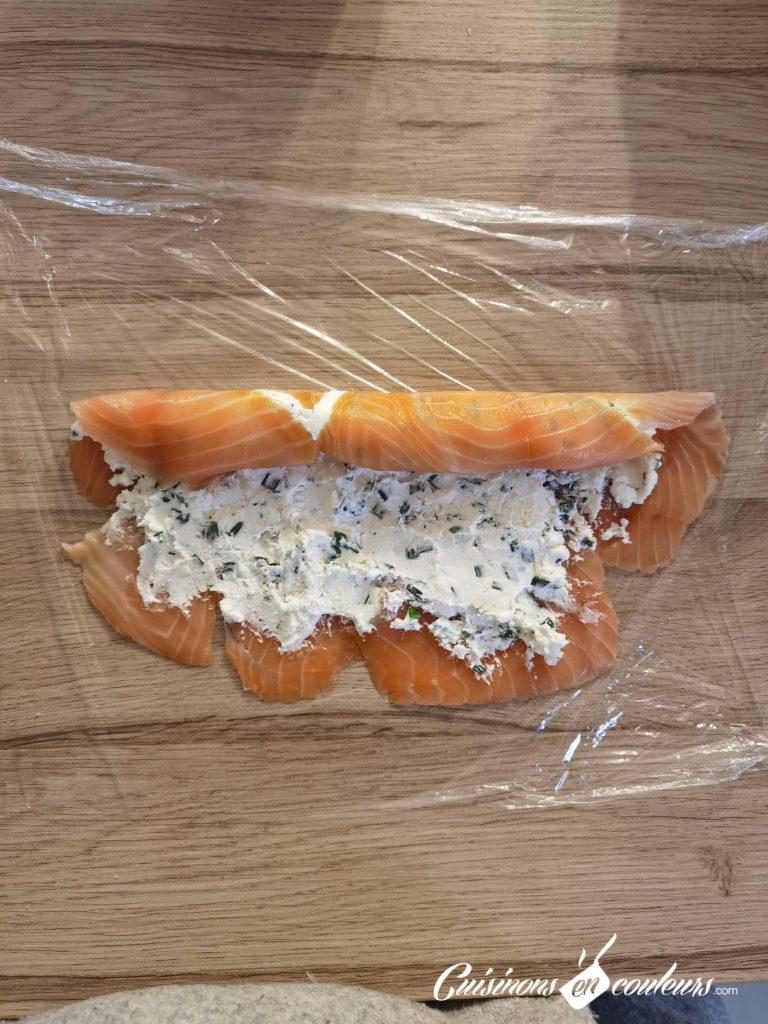 Roule-au-saumon-fume-9-768x1024 - Saumon fumé roulé au fromage frais