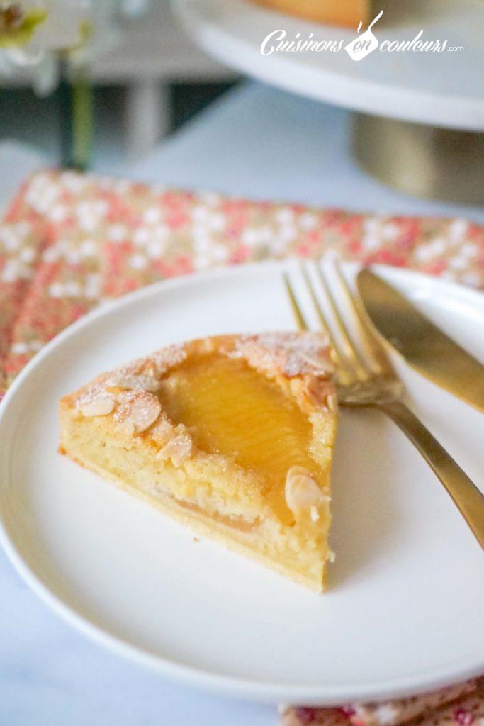tarte-aux-poires-bourdaloue-2-683x1024 - Tarte aux poires, crème d'amandes, cannelle et fleur d'oranger