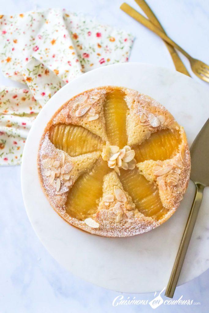 tarte-aux-poires-bourdaloue-6-683x1024 - Tarte aux poires, crème d'amandes, cannelle et fleur d'oranger