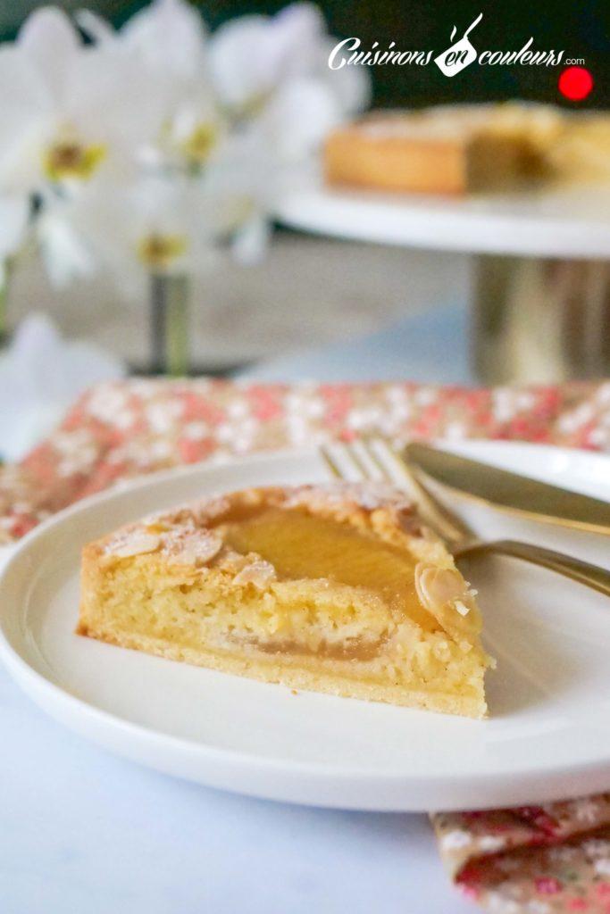 tarte-aux-poires-bourdaloue-683x1024 - Tarte aux poires, crème d'amandes, cannelle et fleur d'oranger