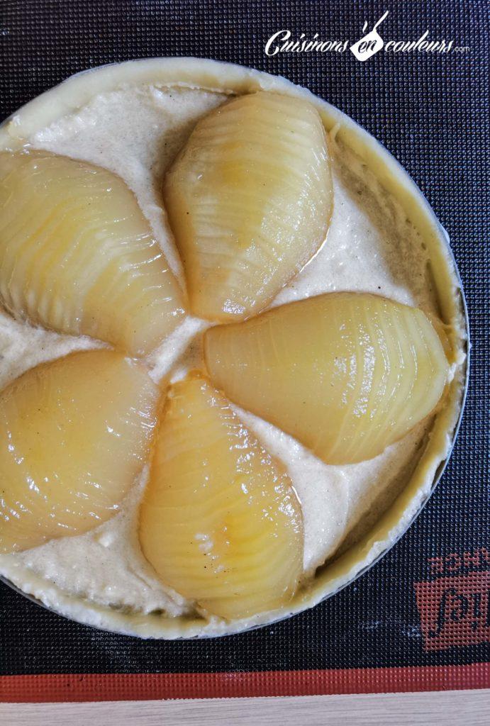 tarte-bourdaloue-13-691x1024 - Tarte aux poires, crème d'amandes, cannelle et fleur d'oranger