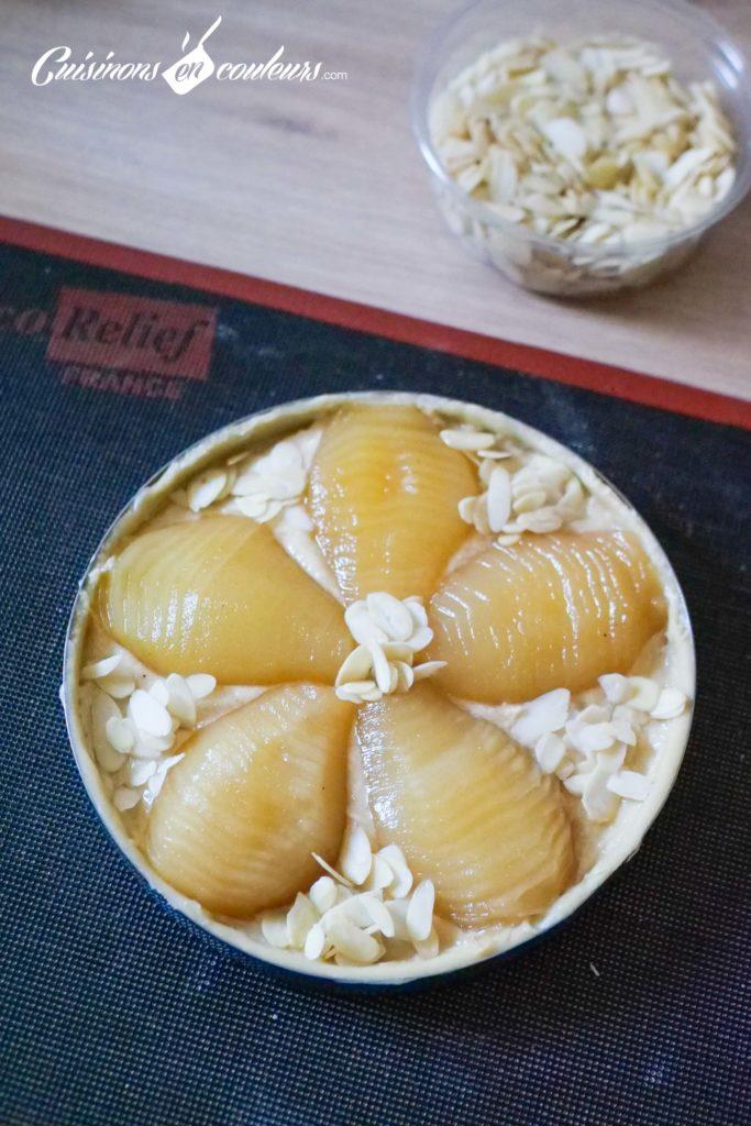 tarte-bourdaloue-14-683x1024 - Tarte aux poires, crème d'amandes, cannelle et fleur d'oranger