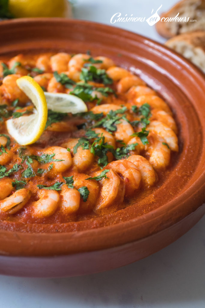 tajine-de-crevettes-2-683x1024 - Tajine de crevettes