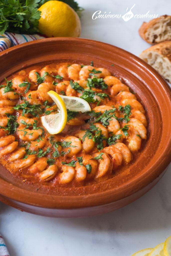 tajine-de-crevettes-3-683x1024 - Tajine de crevettes