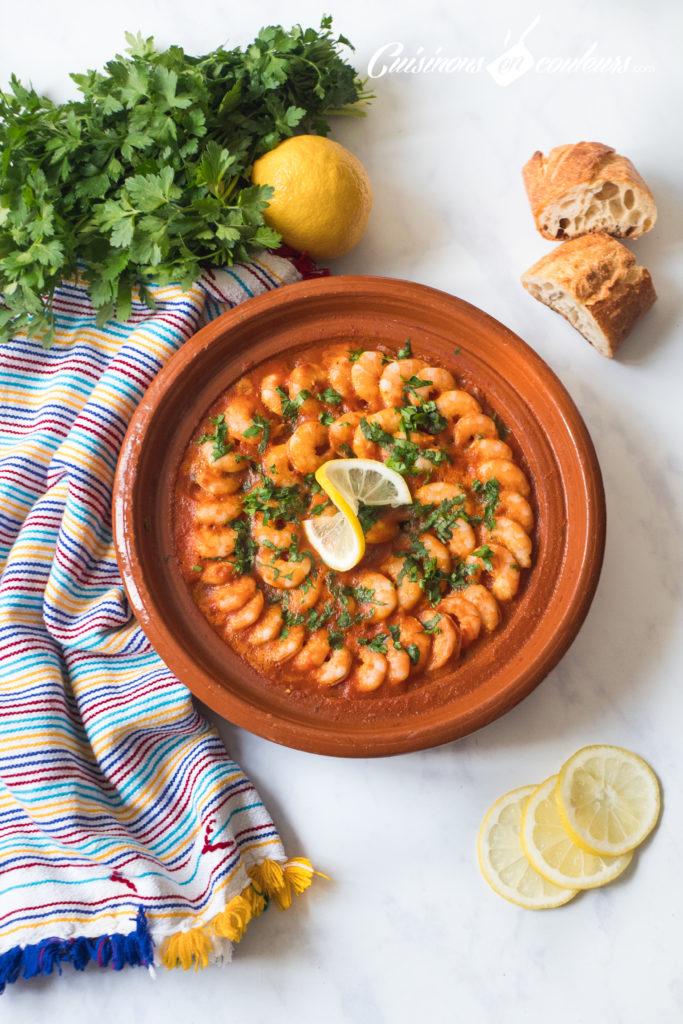 tajine-de-crevettes-683x1024 - Tajine de crevettes