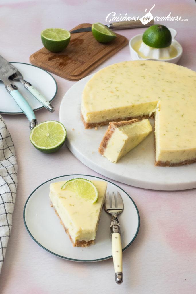 key-lime-pie-2-683x1024 - Key Lime Pie, la tarte aux citrons verts de Floride
