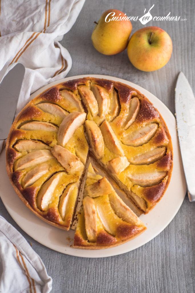 tarte-normande-aux-pommes-14-1-683x1024 - Tarte normande aux pommes