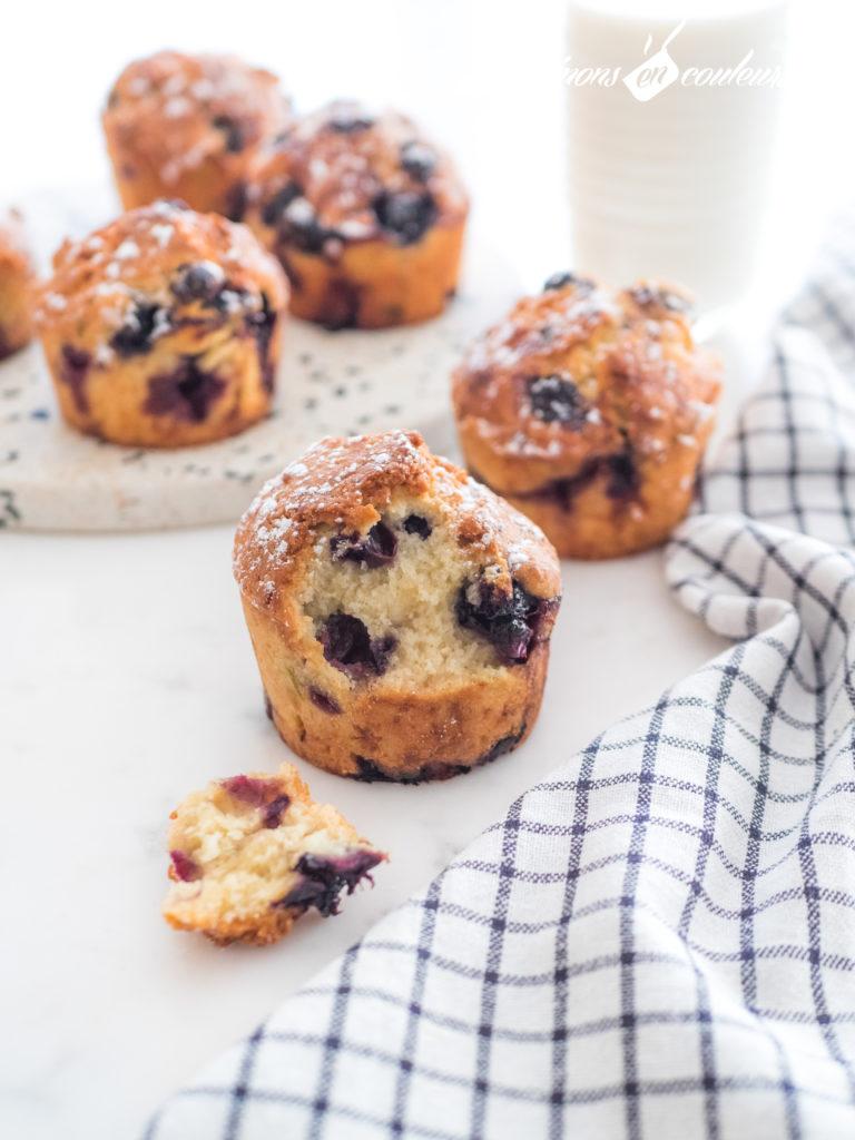 muffins-myrtilles-10-768x1024 - Muffins aux myrtilles et citron vert