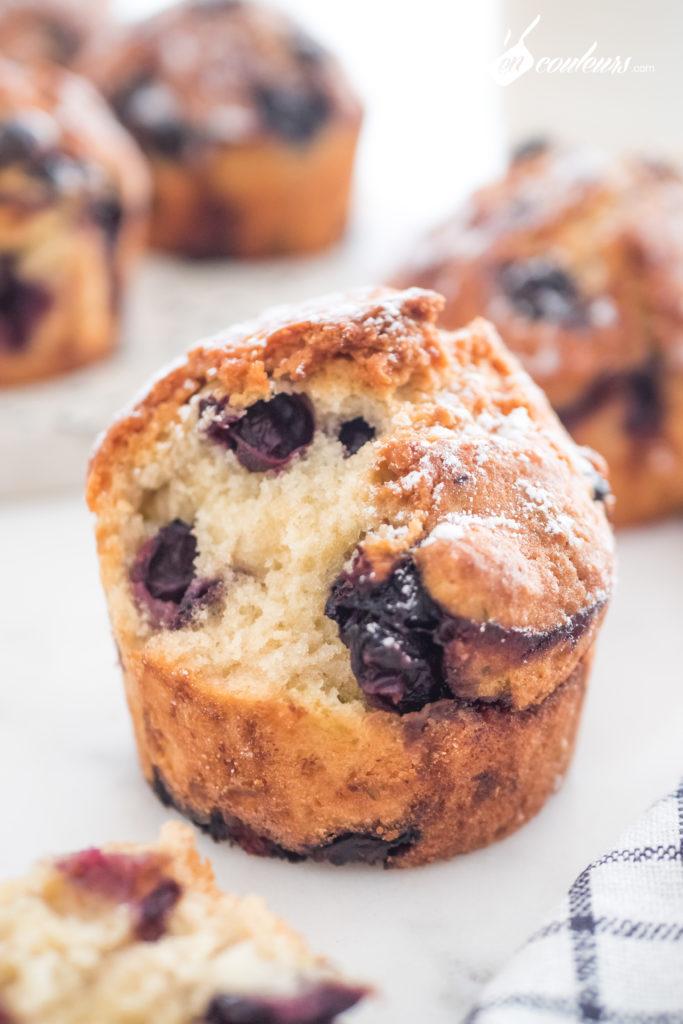 muffins-myrtilles-11-683x1024 - Muffins aux myrtilles et citron vert